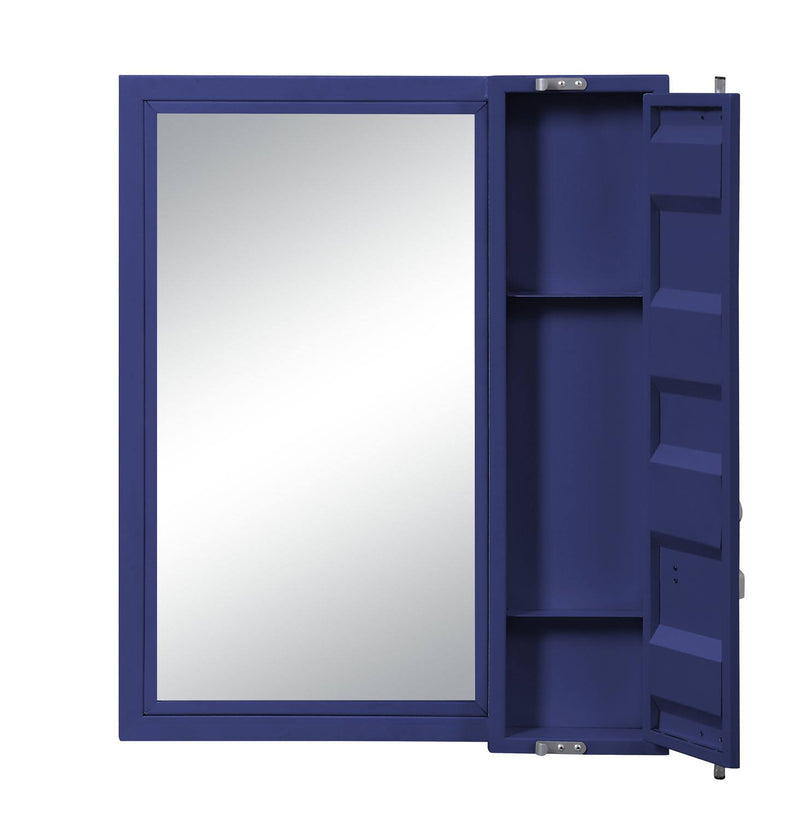 Konto Industrial Vanity Mirror - Blue