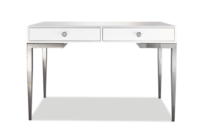 Millard Office Desk - White