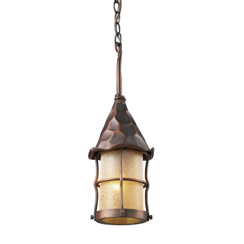 Jatani III 1 Light Hanging - Antique Copper