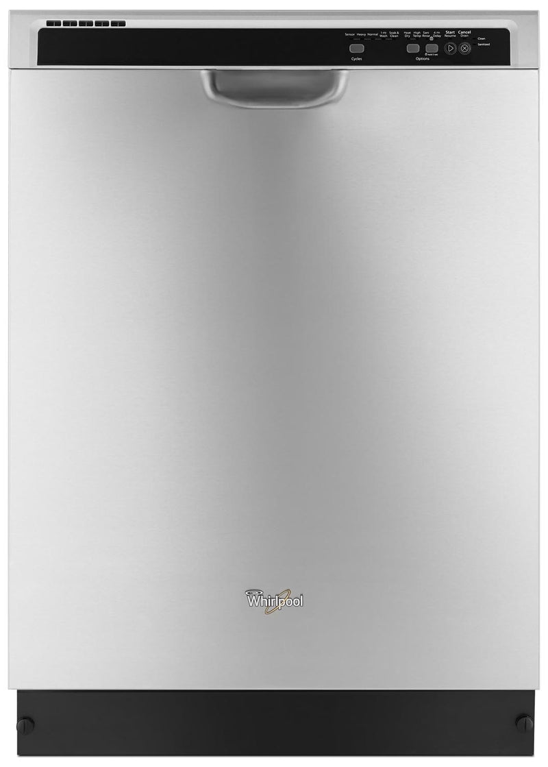 "Whirlpool Stainless Steel 24"" Dishwasher - WDF540PADM"