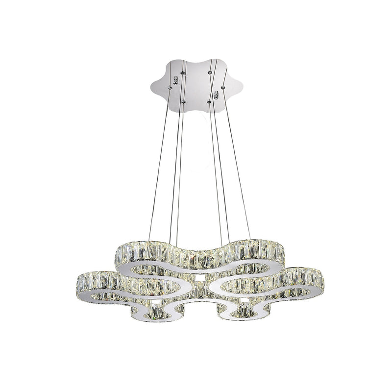 Odessa-Forty Two Light Led Chandelier