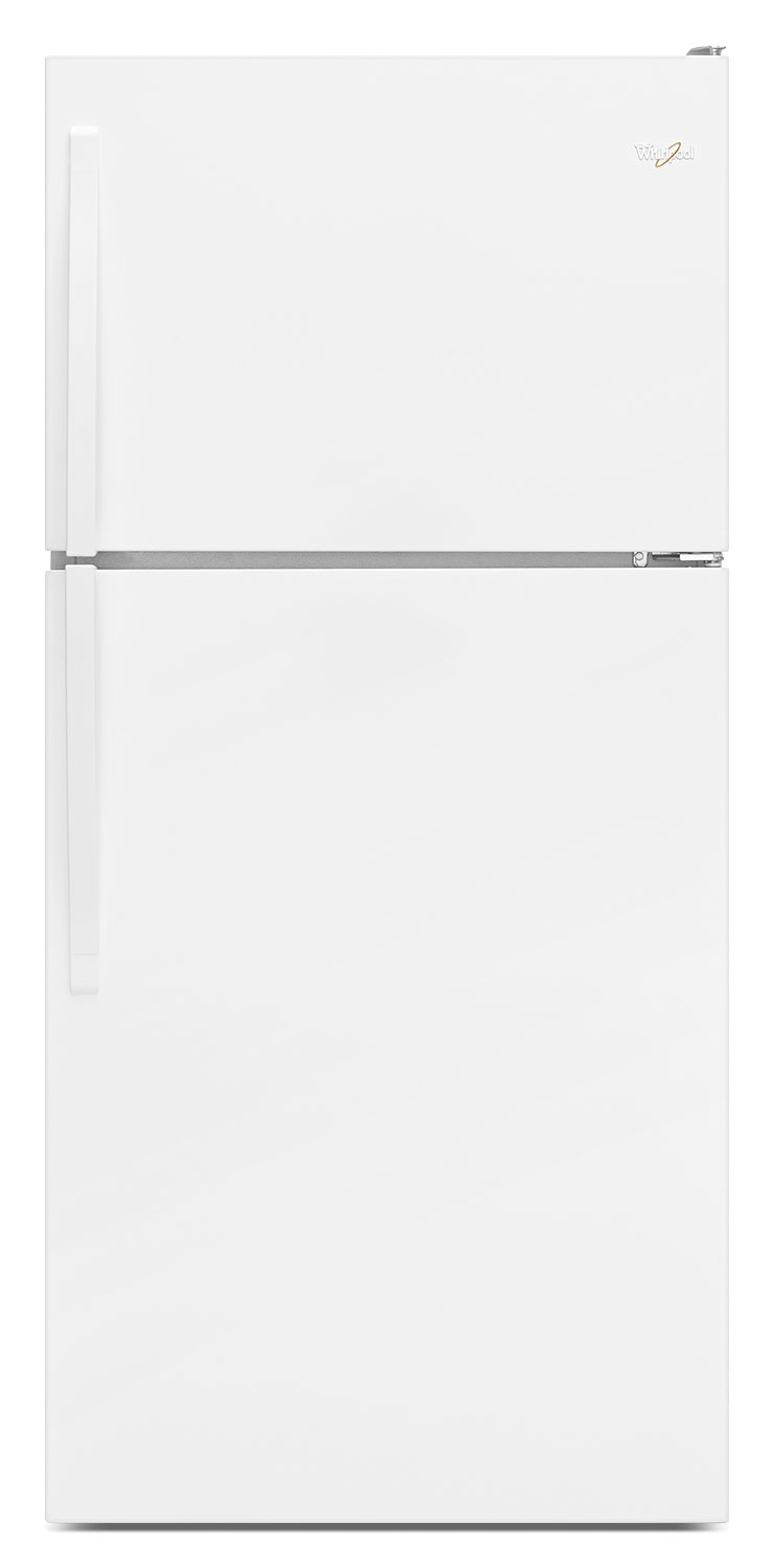 Whirlpool White Top-Freezer Refrigerator (18.25 Cu. Ft.) - WRT148FZDW