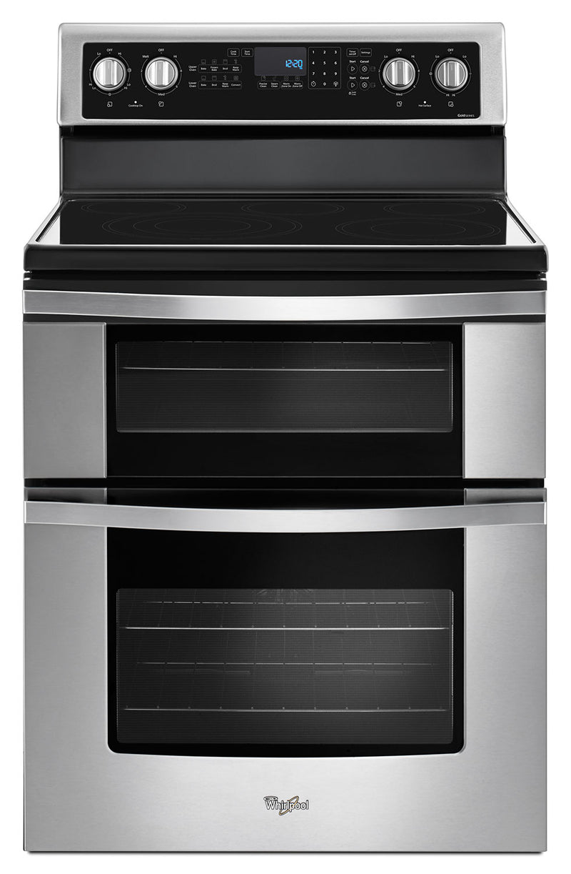 Whirlpool Stainless Steel Electric Double Range (6.7 Cu. Ft.) - YWGE745C0FS