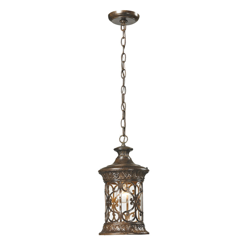 Grand Est 1 Light Hanging - Hazelnut Bronze