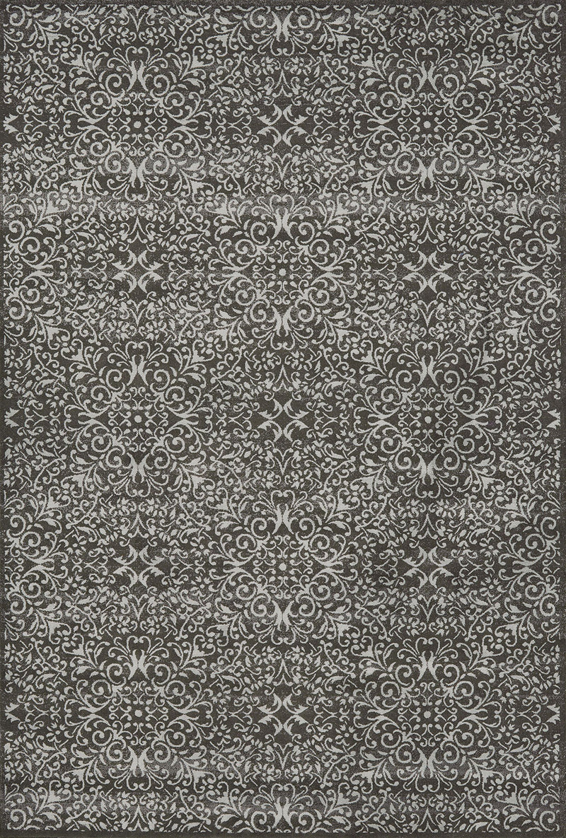 "Azeri Iv Dark Grey / Silver 10' x 13'2"" Arearug"