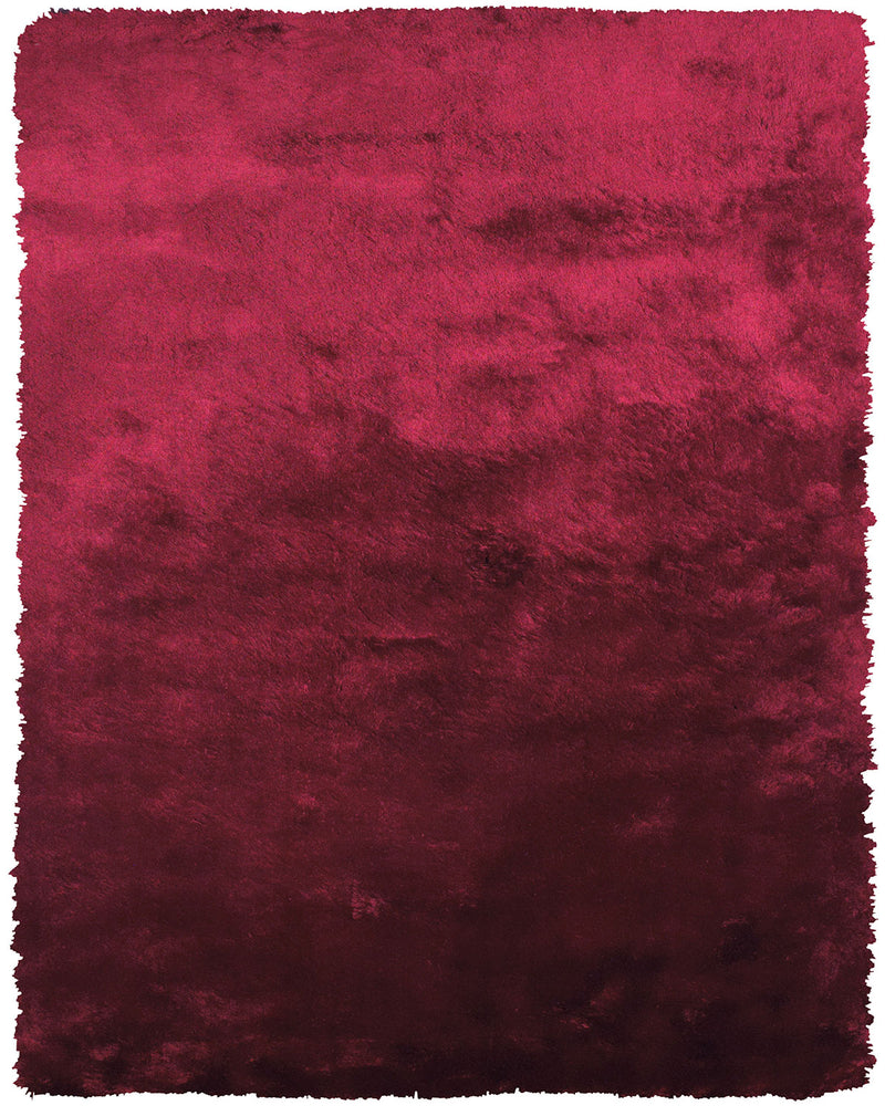 "Indochine Cranberry 4'9"" X 7'6"" Area Rug"