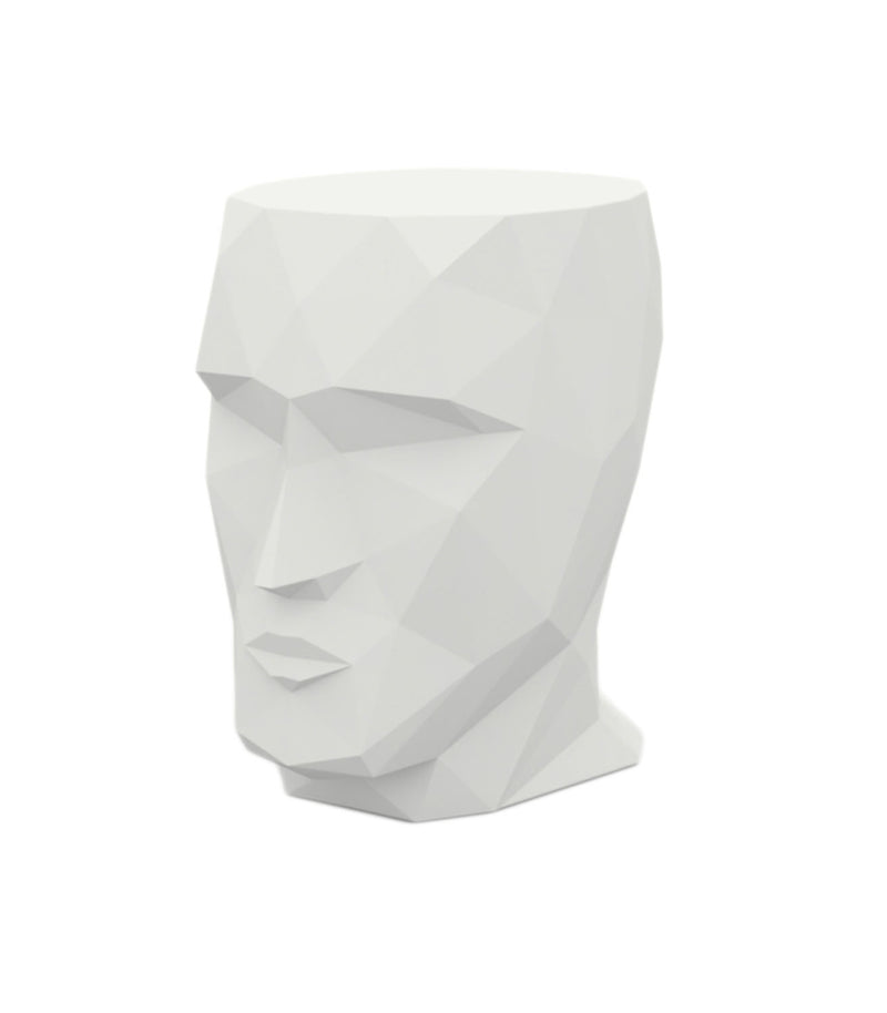 Vondom Outdoor Head End Table - White
