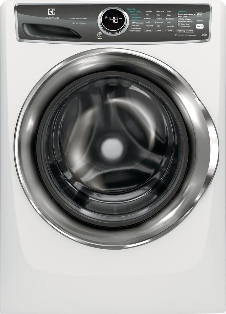 Electrolux White Front-Load Steam Washer (5.1 Cu. Ft.) - EFLS627UIW