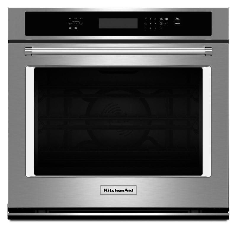 KitchenAid Stainless Steel Single Wall Oven (5.0 Cu.Ft.) - KOSE500ESS