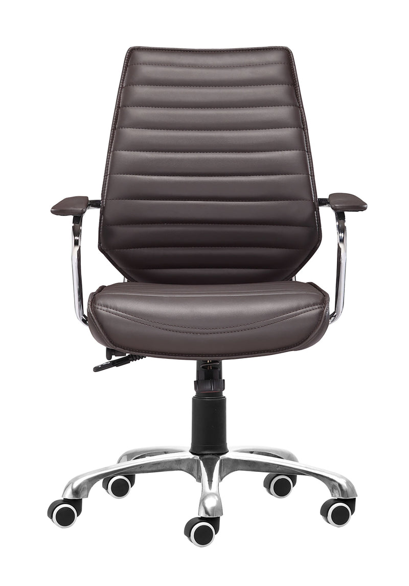 Birmingham Low Back Office Chair- Expresso