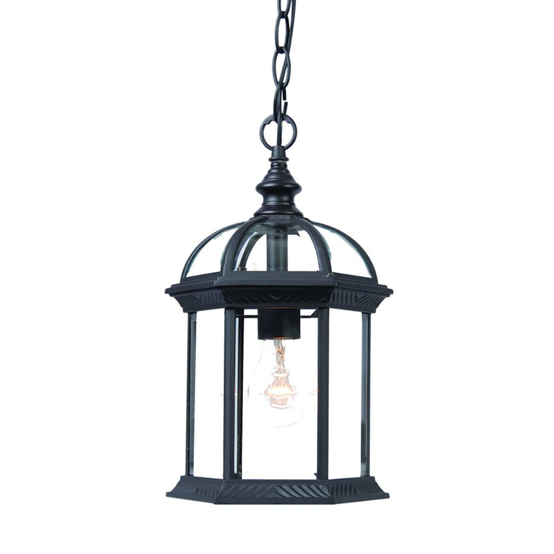 Nairn - I Outdoor Hanging Lantern - Matte Black