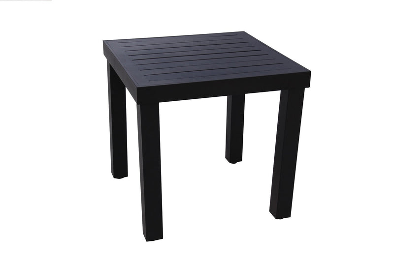 Mitterrand Square Outdoor End Table