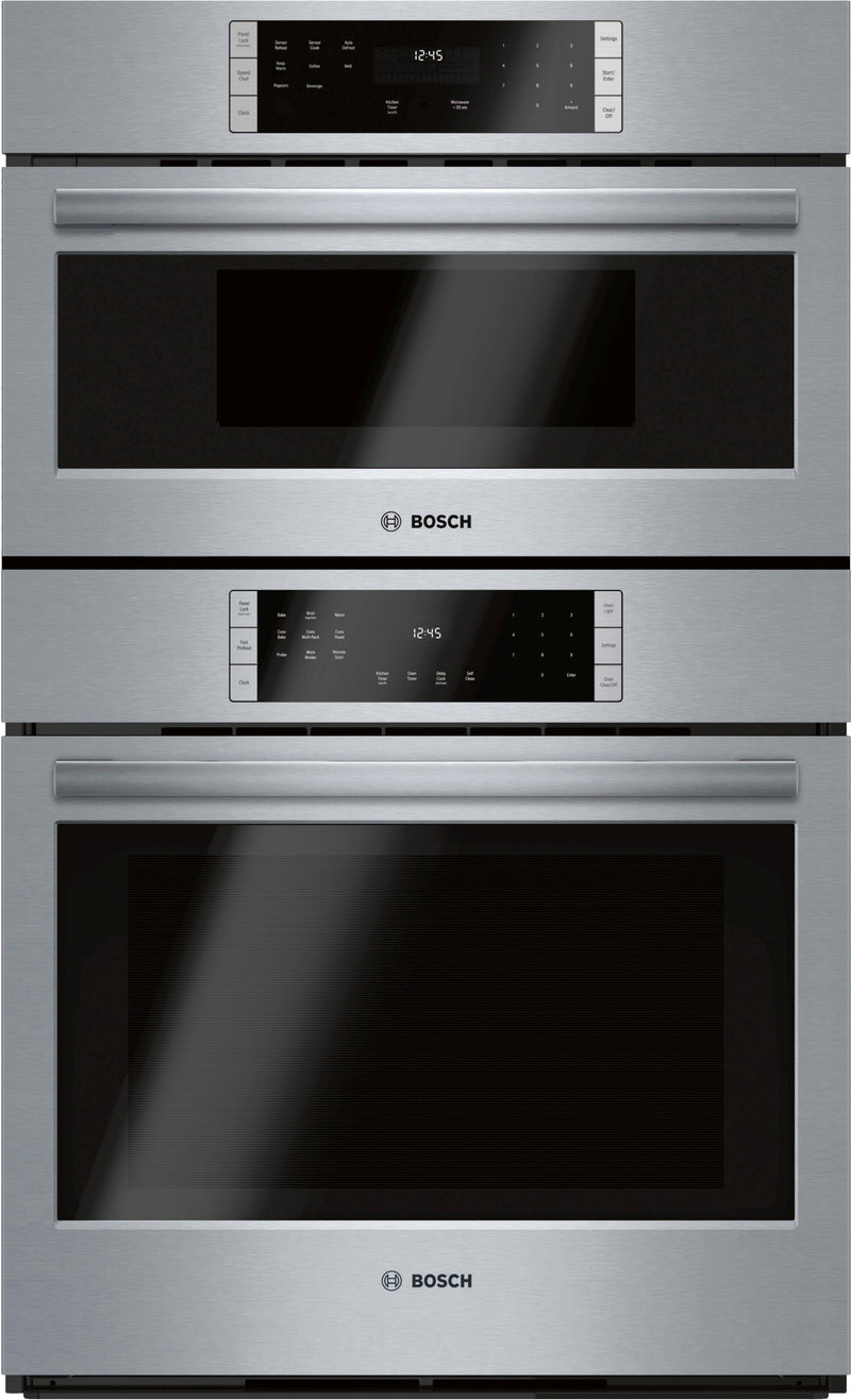 "Bosch Stainless Steel 30"" Microwave Combination Oven - HBL87M53UC"