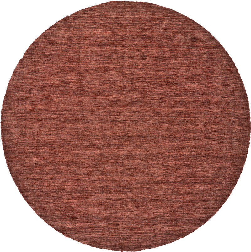 Macbeth 10' x 10' Round - Rust Area Rug