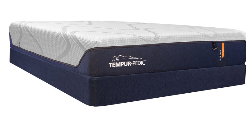 Tempur-Pedic Pro-React Firm King Mattress and Split Boxspring Set