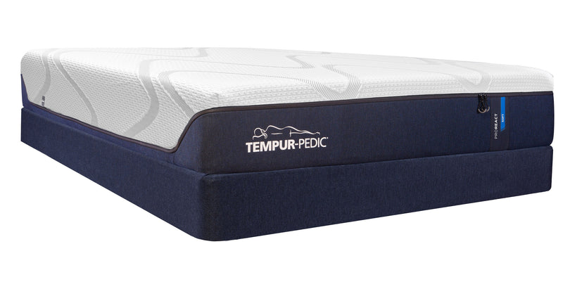 Tempur-Pedic Pro-React Plush King Mattress and Split Boxspring Set