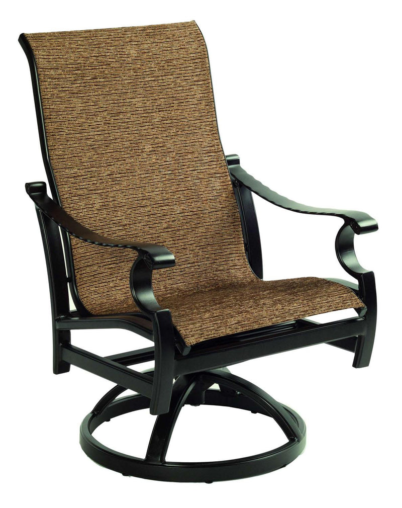 Monterey Sling Dining Swivel Rocker