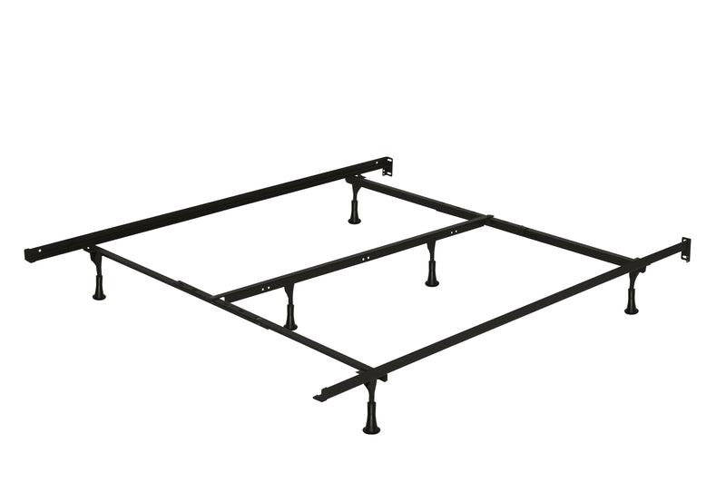 Deluxe 6-Leg Full/Queen/King Bed Frame on Glides