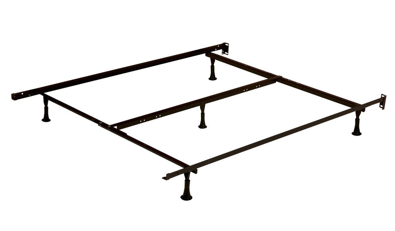 Standard 5-Leg Twin/Full/Queen Bed Frame on Glides
