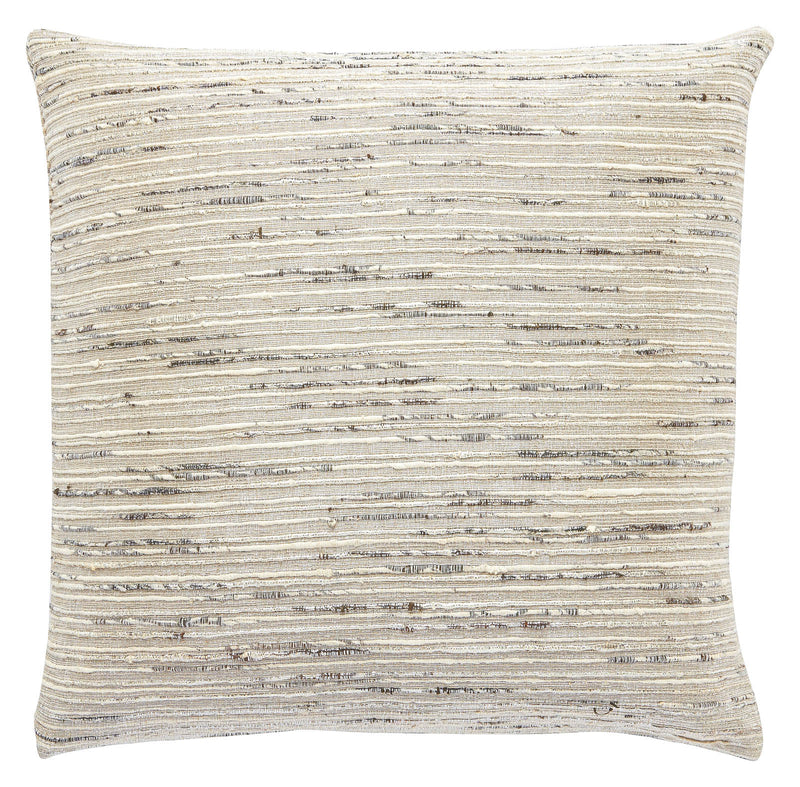"Lakudy Decorative Cushion- Ivory (22"" X 22"")"