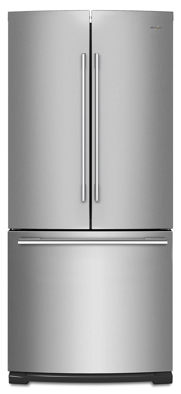 Whirlpool Stainless Steel French Door Refrigerator (20.0 Cu. Ft.) - WRFA60SFHZ