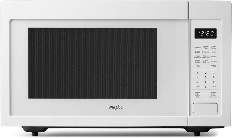 Whirlpool White Countertop Microwave (1.6 Cu. Ft.) - YWMC30516HW
