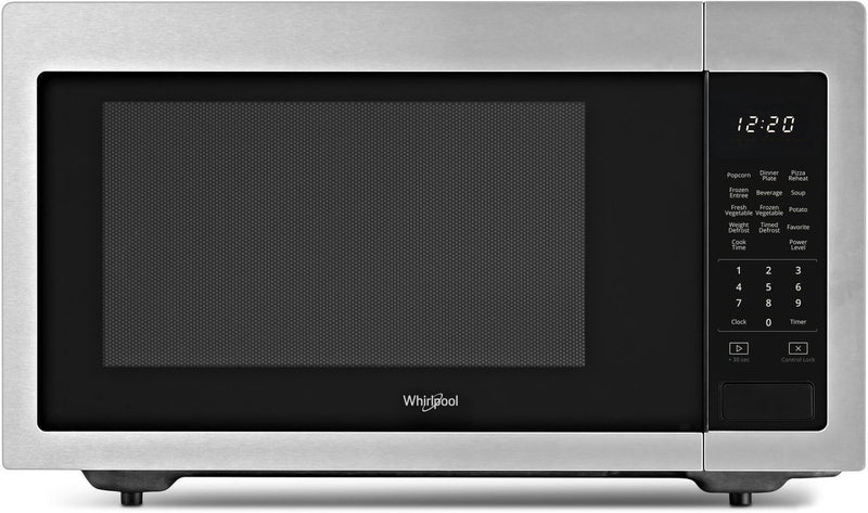 Whirlpool Stainless Steel Countertop Microwave (1.6 Cu. Ft.) - YWMC30516HZ
