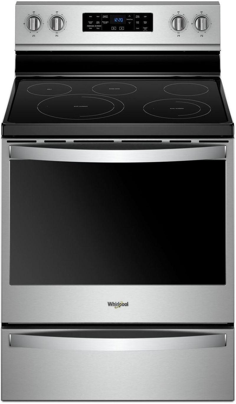 Whirlpool Stainless Steel Freestanding Electric Convection Range (6.4 Cu. Ft.) - YWFE775H0HZ
