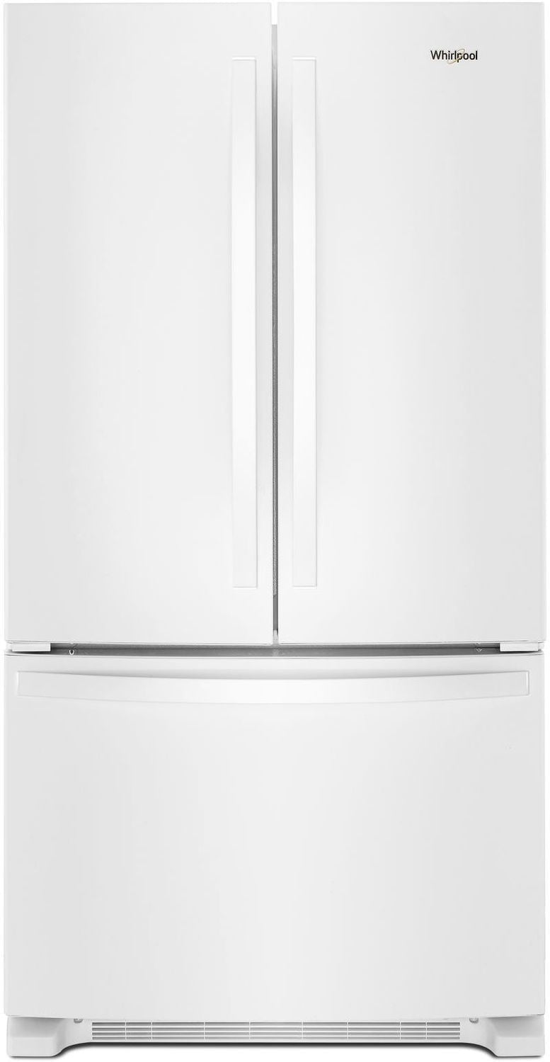Whirlpool White French Door Refrigerator (25 Cu. Ft.) - WRF535SWHW