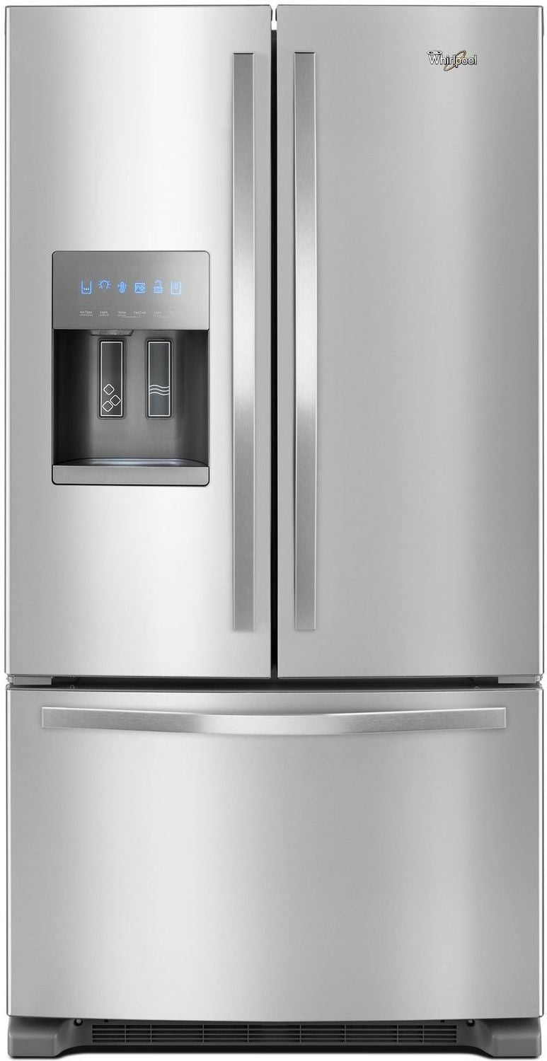 Whirlpool Stainless Steel French Door Refrigerator (25 Cu. Ft.) - WRF555SDFZ