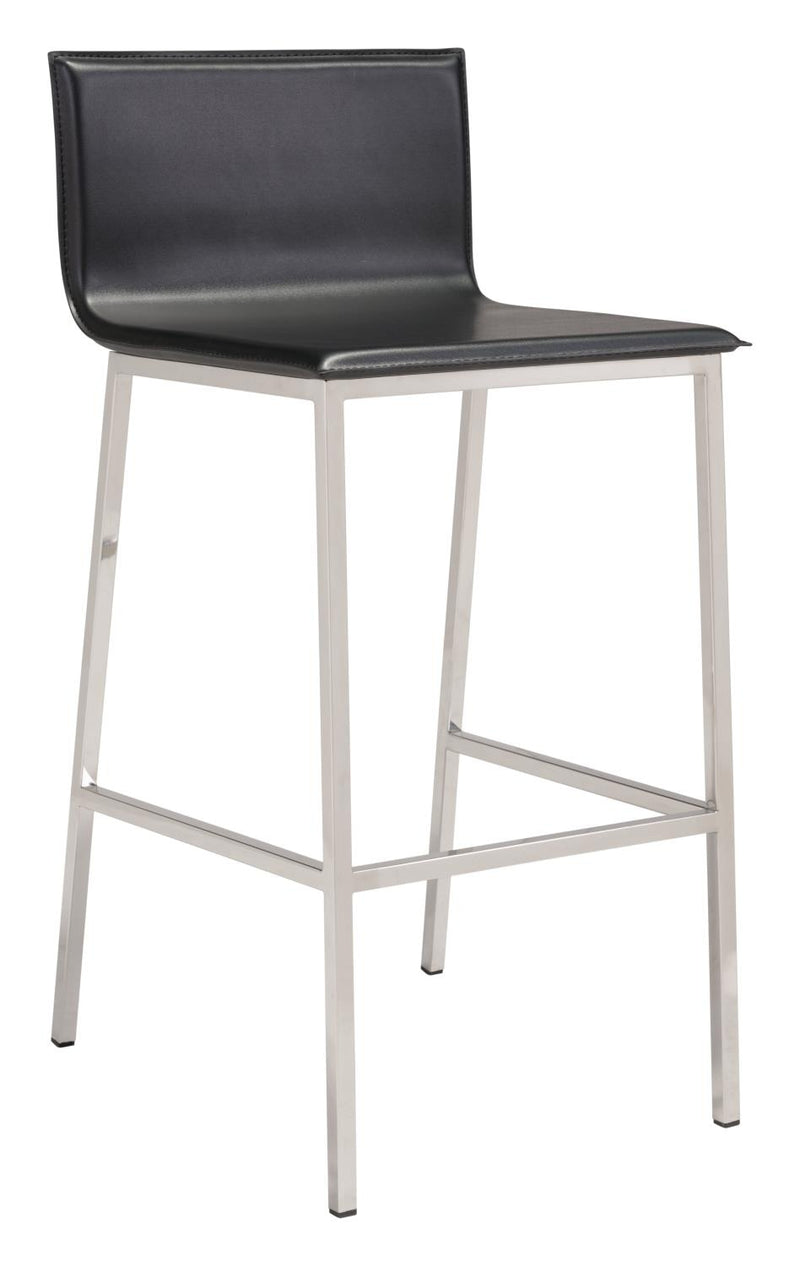Chia Bar Stool - Black