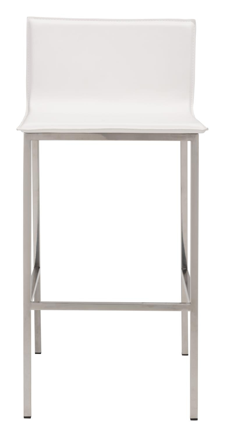 Chia Bar Stool - White
