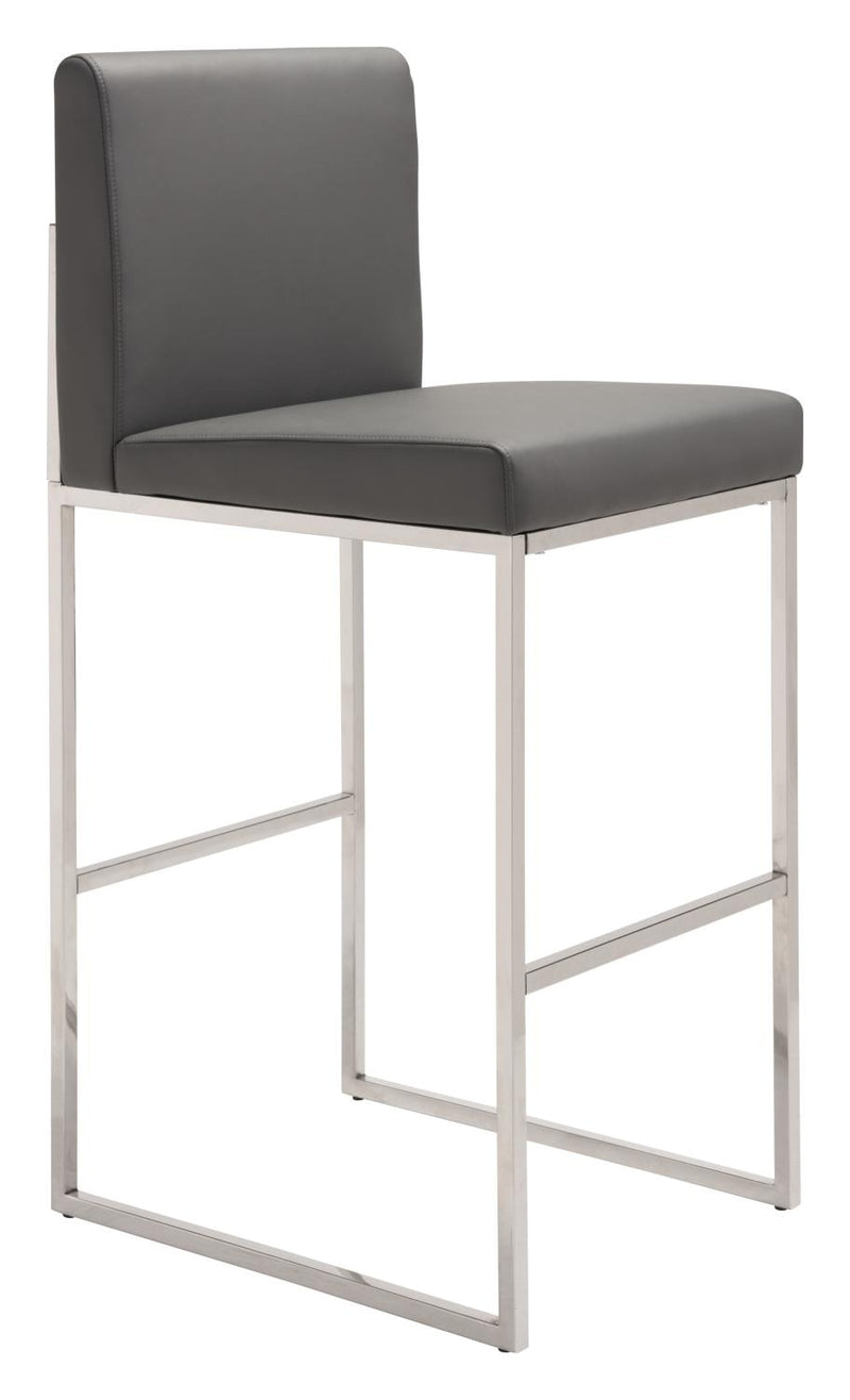 Huca Bar Stool - Grey