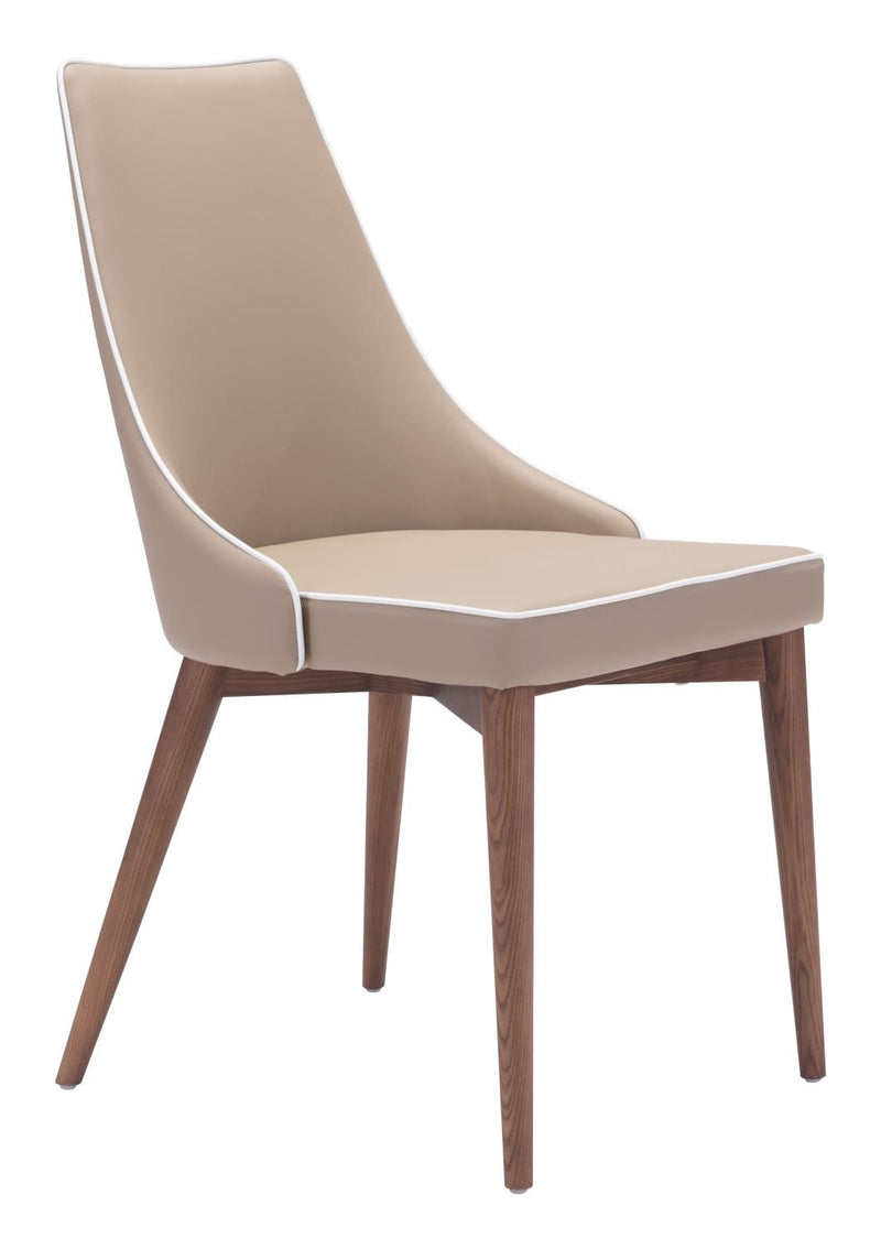 La Paz Dining Chair - Beige- Set Of 2
