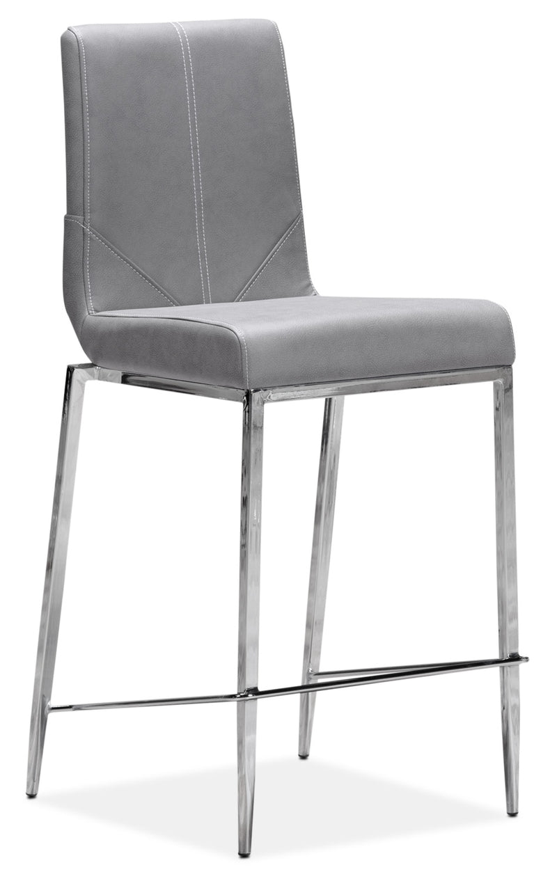 Byars Pub-Height Stool - Grey