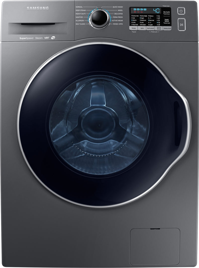 Samsung Grey Front-Load Washer (2.6 Cu. Ft. IEC) -  WW22K6800AX/A2