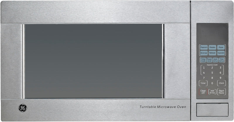 GE Stainless Steel Countertop Microwave (1.1 Cu. Ft.) - JES1140STC