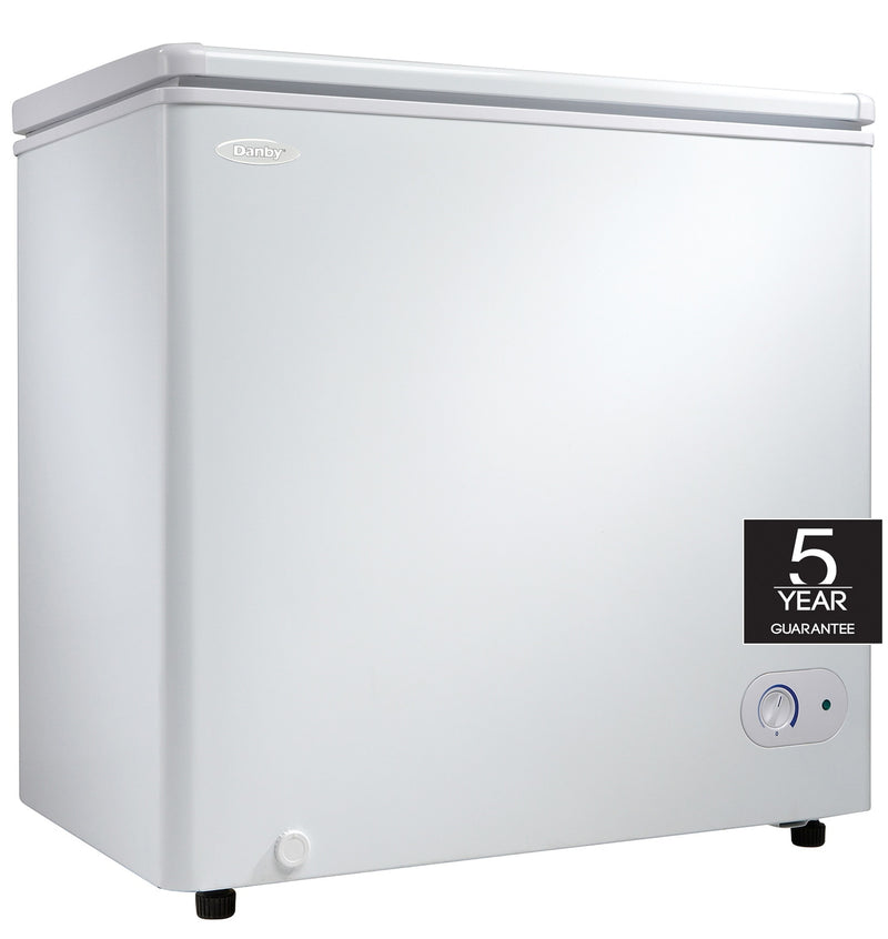 Danby White Chest Freezer (5.5 Cu. Ft.) - DCF055A2WDB