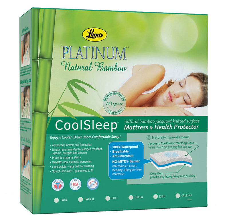 Platinum Twin XL Mattress Health Guard - Bamboo