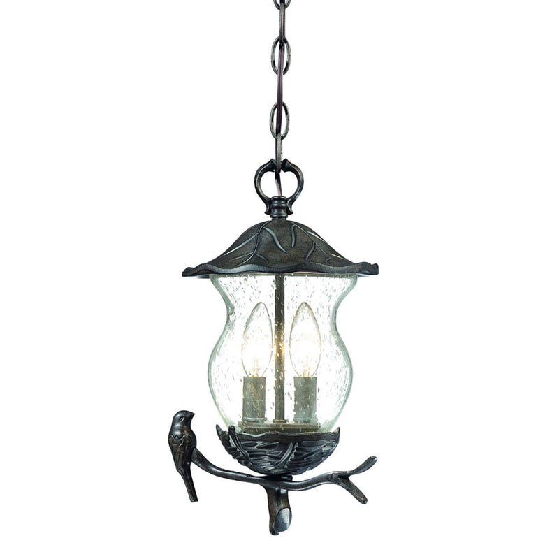 Gorey - II Outdoor Hanging Lantern - Black