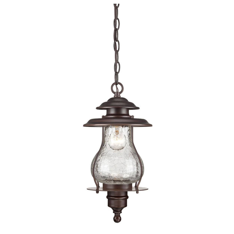 Listowel Outdoor Hanging Lantern - Architectural Bronze