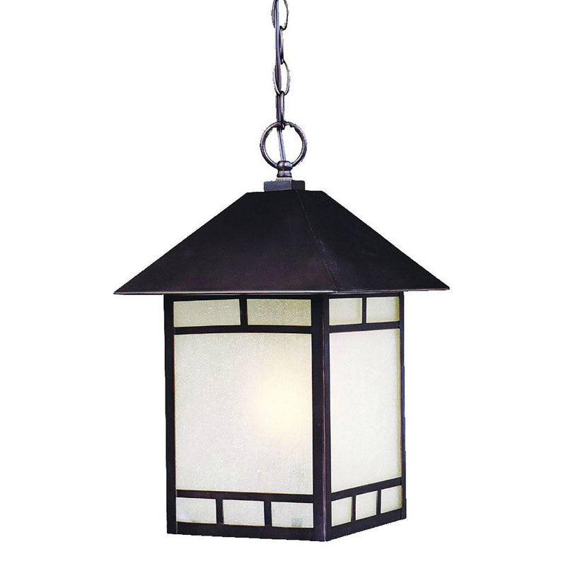 Killarney Outdoor Hanging Lantern - Architectural Bronze