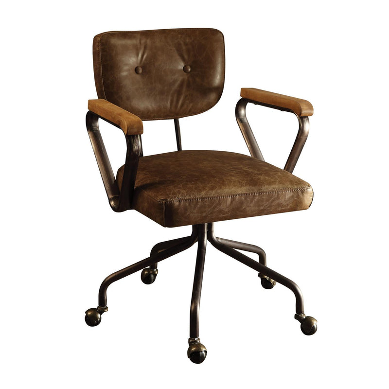 Buo Leather Executive Office Chair - Vintage Whiskey