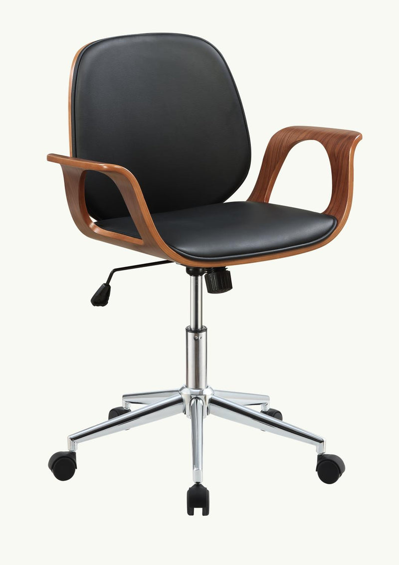 Bleaklow Office Chair - Walnut