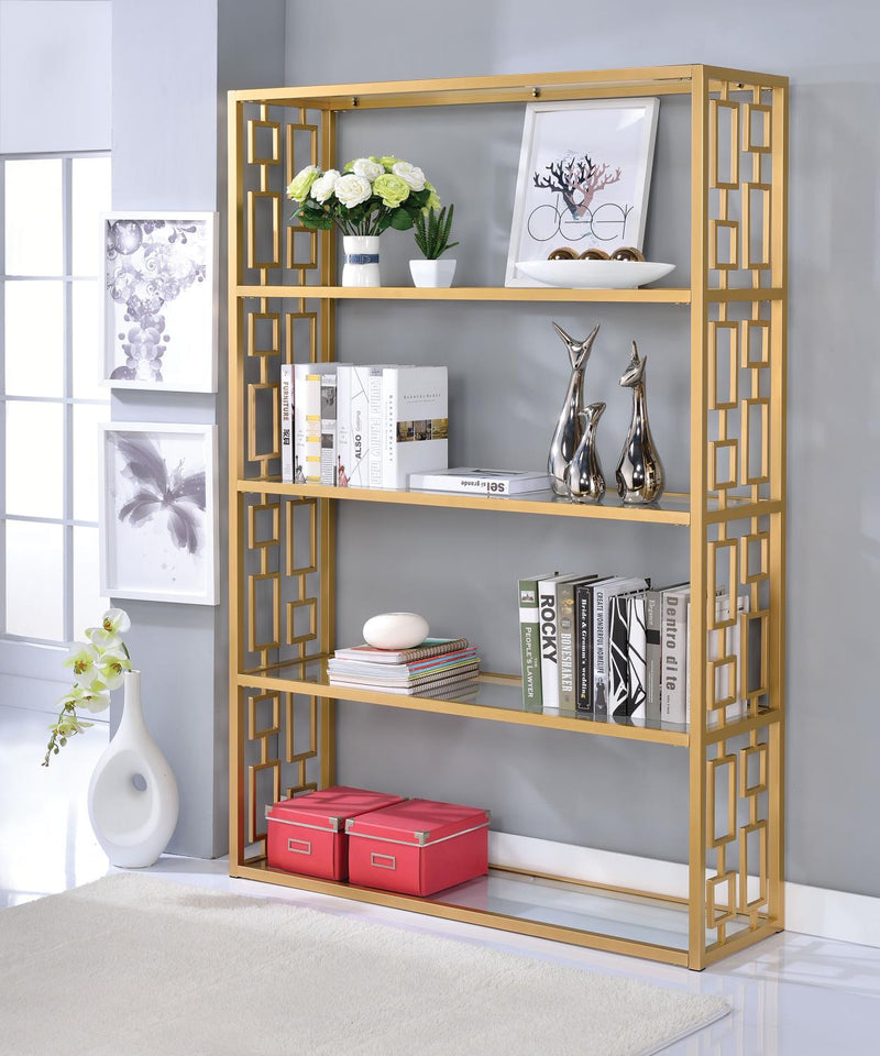 Kajan Bookshelf - Gold