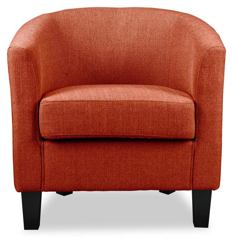 Tindale Accent Chair - Orange