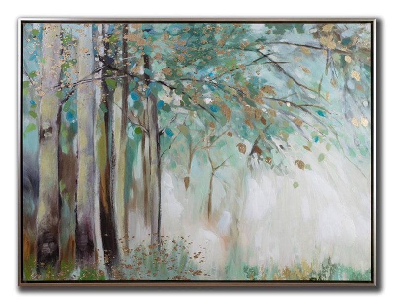 Forest Lush Wall Art - 36 X 48