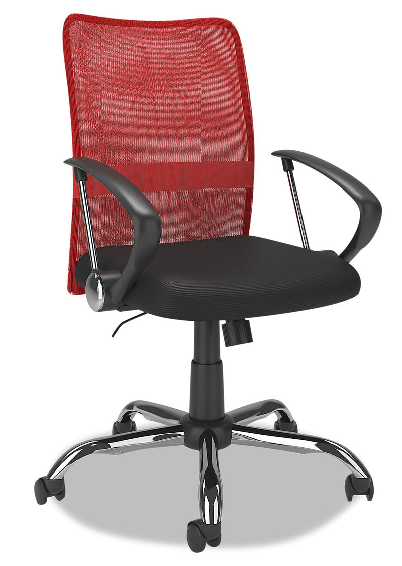 Hornell Office Chair - Red