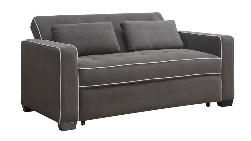 Caistor Sofa with Queen Size Pop-Up Bed - Grey