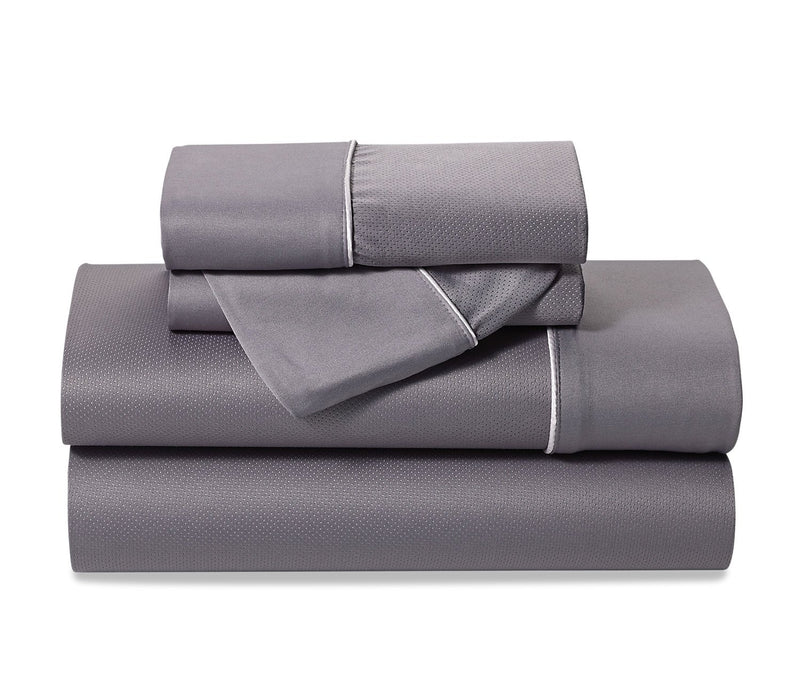 Bedgear Dri-Tec® Lite 4-Piece Queen Sheet Set - Grey